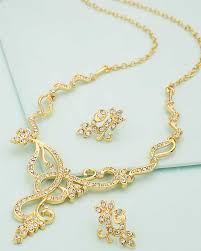 beautiful necklace images Buy designer necklace sets cz embellished beautiful necklace set jpg