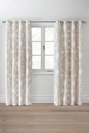 natural geo print eyelet curtains next uk 168x183 45 trevelyan