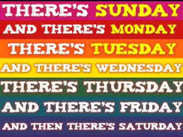 days of the week clap clap to the tune of the addams family