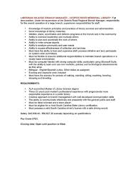 Library Page Resume Sample by Job Library Job Resume