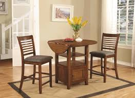 3 Pc Kitchen Table Sets by 3 Piece Pub Set With Storage City Creek Furniture