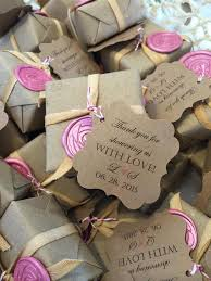 soap bridal shower favors wrapped soap favor with wax seal bridal shower favor