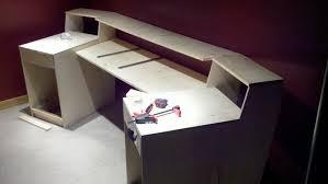 Home Studio Desk Ikea by Make Your Own Desk Diy Ikea Butcher Block Countertops As Desk