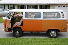 orange volkswagen van possibilities vw bus finale