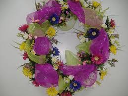 the wreath artist decorative mesh wreaths for
