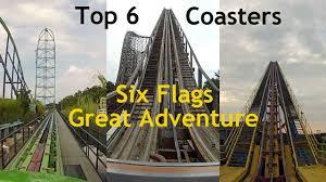Sandusky Ohio Six Flags Top 6 Coasters