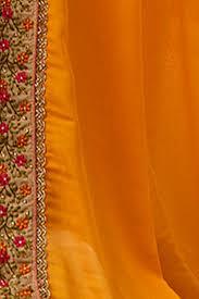 paaneri designer half u0026 half orange with deep pink color