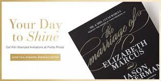 foil sted wedding invitations foil pressed wedding invitations foil pressed wedding invitations