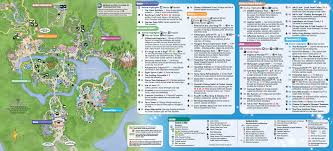 Crystal River Florida Map January 2016 Walt Disney World Park Maps Photo 1 Of 12