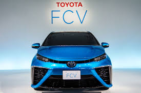 hydrogen fuel cell car toyota toyota u0027s hydrogen fuel cell vehicle to be called the mirai auto