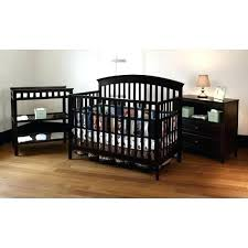 black crib with changing table crib and changing table summer infant crib changing table and