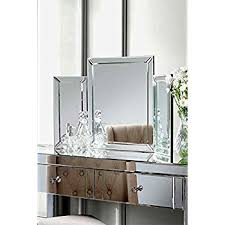 folding dressing table mirror my furniture mirrored bedroom furniture triple folding dressing