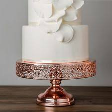 gold wedding cake stand gold cake stands ebay
