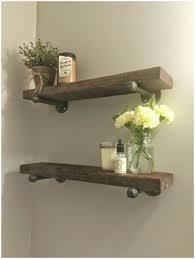 bathroom white shelves for bathroom wall rustic wood shelves