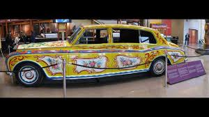 yellow rolls royce john lennon u0027s yellow submarine rolls royce car history youtube