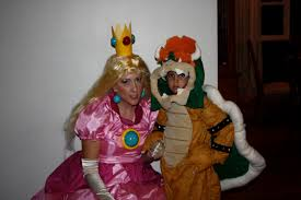 Bowser Halloween Costumes Princess Peach Bowser Homemade Halloween Costumes U2026 Flickr