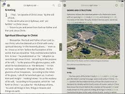 how to use a study bible in bible olive tree blog