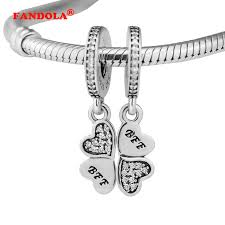 best bracelet charms images Fits pandora charms bracelet best friends forever beads with clear jpg