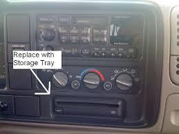 1995 Suburban Interior 1995 Chevy Silverado Cd Player Replacement Chevrolet Forum