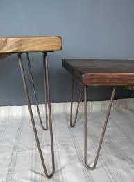 hairpin leg coffee table round hairpin leg coffee table reclaimed scaffold board hairpin leg coffee