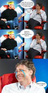 Bill Gates Meme - image 182522 steve jobs vs bill gates know your meme