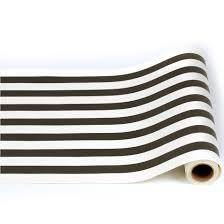 black and white striped wrapping paper 20 wide