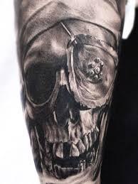 dark skull tattoo by carlos torres design of tattoosdesign of