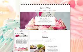 Cake Order Cake Shop Website Template