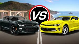 what is camaro 2016 chevy camaro ss vs camaro lt spec comparison