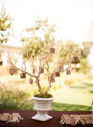 wedding wishes board rustic tree with well wishes to the from guests hanging on