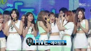 a pink win show music core with u201cfive u201d lucius somesuch