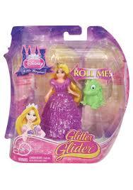 pink glitter car disney princess rapunzel glitter glider doll