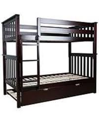 Bunk Bed Espresso Check Out These Bargains On Max Solid Wood Bunk