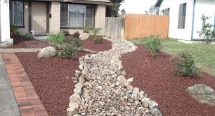 Rock Garden Designs For Front Yards Front Yard Rock Landscaping Designs