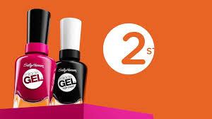 gel nail light sally s beauty sally hansen miracle gel cvs com