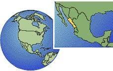 sinaloa mexico map current local in sinaloa mexico