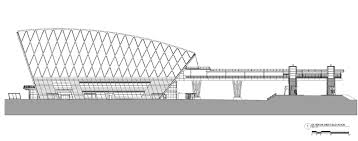 orange county convention center floor plans anaheim regional transportation intermodal center hok archdaily
