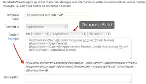 support documentation appointment reminders clinicwise