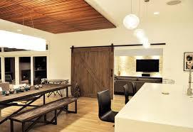 Door Dining Room Table 20 Splendid Dining Rooms With Wooden Sliding Doors Home Design Lover