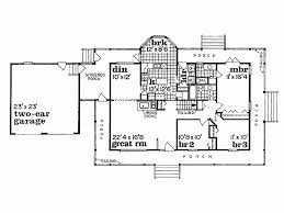 farmhouse house plans with porches one house plans with porch lovely franciscan house plan