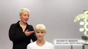 aveda how to the tousled look for short hairstyles youtube