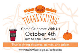 when is thanksgiving this year in canada mohawk college news mohawkcollege twitter