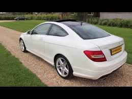 mercedes c230 2012 2012 mercedes c220 coupe amg sport white panoramic roof