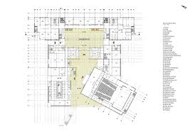 Amphitheater Floor Plan by Media For College Of Arts And Design Openbuildings
