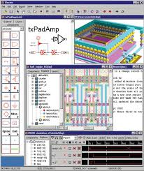 free cmos layout design software electric eda tool from schematic to ic layout software review