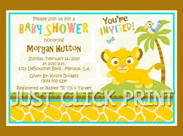 lion king baby shower invitations theruntime com