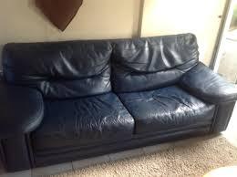 donne canapé donne canapé cuir 1 fauteuil bleu gratuit 51430 tinqueux don