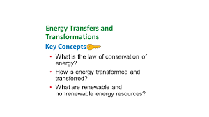 what is the law of conservation of energy how is energy
