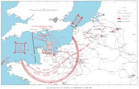 Map Of German States by June Map D Day Airborne Assault Epic Militaria Blog