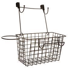 Over The Cabinet Door Basket by Over The Cabinet Door Blow Dryer U0026 Curling Iron Organizer Miles